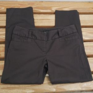 ❤THE LIMITED DREW FIT SOFT BROWN ANKLE PANTS, 6